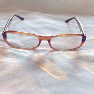 RayBan Vintage Brown Eyeglasses